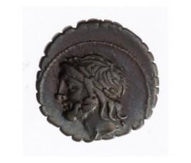 Monnaie, République Romaine, Denier serratus, Cornelia, Argent, 106 Ac, Rome, P12956
