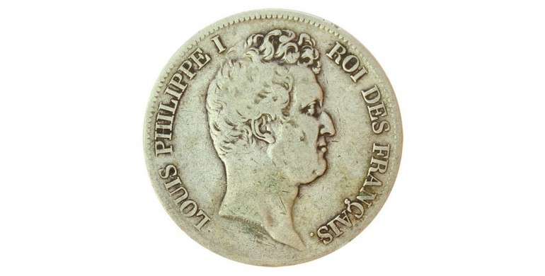 Monnaie, France , 5 francs, Louis-Philippe Ier, Argent, 1831, Toulouse (M), P10812