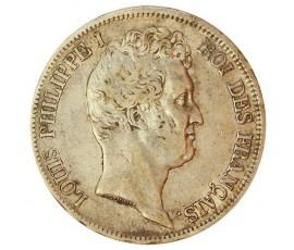 Monnaie, France , 5 francs, Louis-Philippe Ier, Argent, 1831, Lille (W), P10813