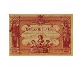 Billet, France , 50 Centimes Chambre de Commerce de Poitiers et de la Vienne, 07/1917, B10020