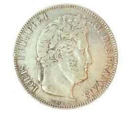 Monnaie, France , 5 francs, Louis-Philippe Ier, Argent, 1836, Bordeaux (K), P10820