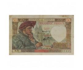 Billet, France , 50 Francs Jacques Cœur, 13/03/1941, B10146
