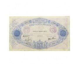 Billet, France , 500 Francs Bleu Et Rose, 21/09/1939, B10193