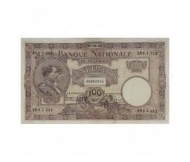 Billet, Belgique, 100 Francs Roi Albert et reine Elisabeth, 06/06/1921, B10218