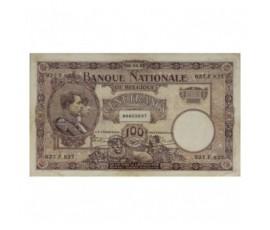 Billet, Belgique, 100 Francs Roi Albert et reine Elisabeth, 06/04/1921, B10219