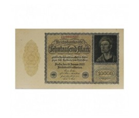Billet, Allemagne, 10 000 Mark République de Weimar, 19/01/1922, B10228