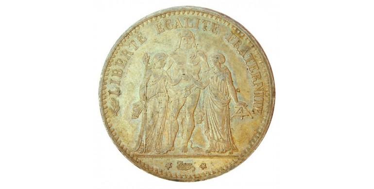 Monnaie, France , 5 francs Hercule, IIIème République, Argent, 1873, Paris (A), P10831