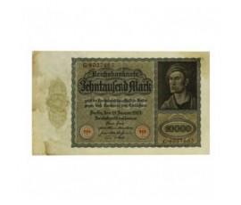 Billet, Allemagne, 10 000 Mark République de Weimar, 19/01/1922, B10235