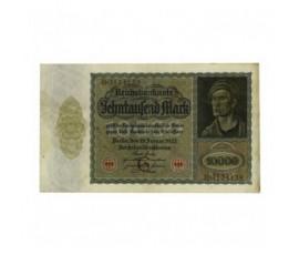 Billet, Allemagne, 10 000 Mark République de Weimar, 19/01/1922, B10236