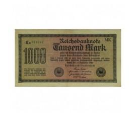Billet, Allemagne, 1000 Mark République de Weimar, 15/12/1922, B10237