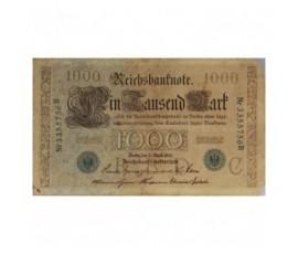 Billet, Allemagne, 1000 Mark Navigation et Agriculture, 21/04/1910, B10240