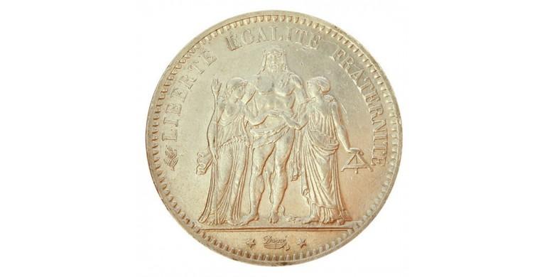 Monnaie, France , 5 francs Hercule, IIIème République, Argent, 1877, Paris (A), P10834