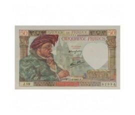 Billet, France , 50 Francs Jacques Cœur, 17/04/1941, B10255