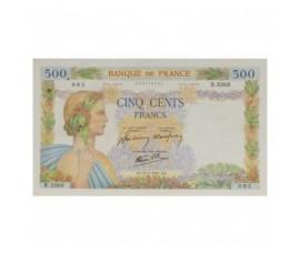 Billet, France , 500 Francs La Paix, 31/07/1941, B10259