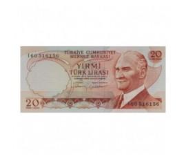 Billet, Turquie, 10 Lira Président Kemel Ataturk, 1974, B10267