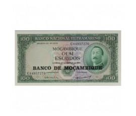 Billet, Mozambique, 100 Escudos A. De Ornelas, 1961, B10270