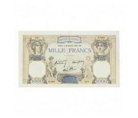 Billet, France , 1000 Francs Cérès Et Mercure, 20/10/1938, B10277