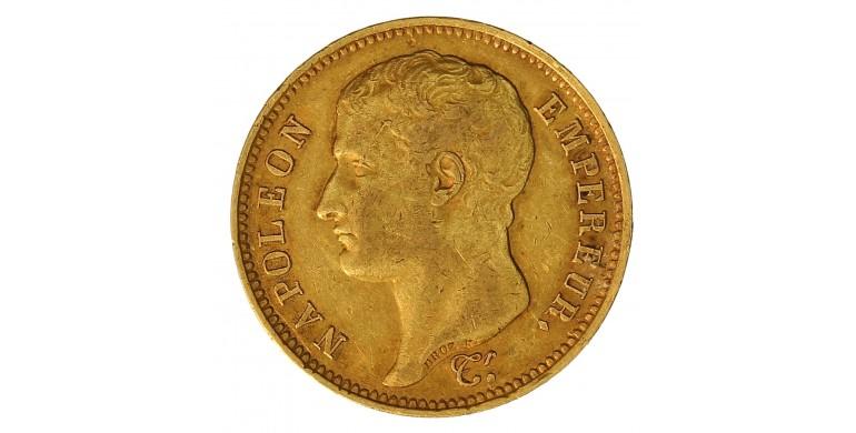 Monnaie, France , 40 francs, Napoléon Ier, Or, 1807, Toulouse (M), P10855