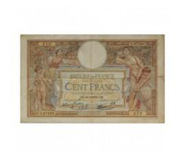 Billet, France , 100 Francs Luc Olivier Merson, 14/09/1939, B10338