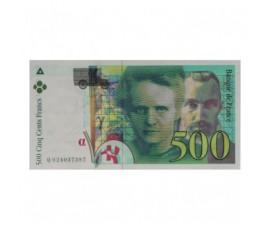 Billet, France , 500 Francs Pierre Et Marie Curie, 1994, B10340