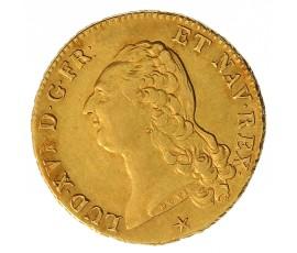 Monnaie, France , Double louis d'or à la tête nue, Louis XVI, Or, 1786, Lille (W), P10892