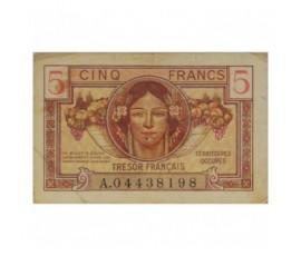 Billet, France , 5 Francs Territoires Occupés, 1947, B10400