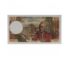 Billet, France , 10 Francs Voltaire, 02/07/1970, B10579