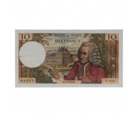 Billet, France , 10 Francs Voltaire, 02/07/1970, B10581