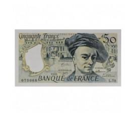 Billet, France , 50 Francs Quentin de la Tour, 1992, B10596