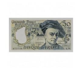 Billet, France , 50 Francs Quentin de la Tour, 1992, B10598