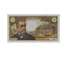 Billet, France , 5 Francs Pasteur, 06/02/1969, B10599