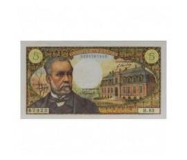 Billet, France , 5 Francs Pasteur, 01/08/1968, B10602