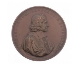 Médaille de Michel Le Tellier chancellier de France,1684,Bronze, M10003