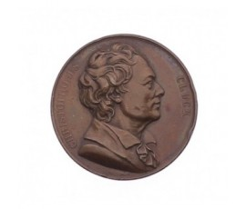 Médaille de Christoph Willibald Gluck,1818,Bronze, M10020