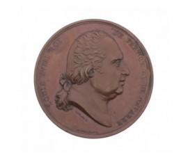 Médaille pour le baptême du duc de Bordeaux,1821,Bronze, M10025