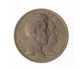 Médaille installation de la statue équestre de Louis XIII à Paris,1829,Bronze, M10033