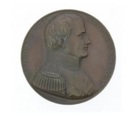 Médaille d'hommage à Napoléon Ier empereur,1838,Cuivre, M10038