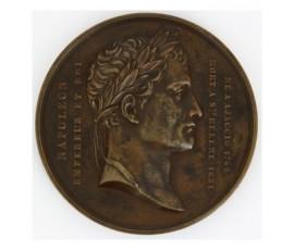 Médaille pour la Loi du 10 juin 1840 concernant la translation des cendres de Napoléon Ier empereur,1840,Bronze, M10039