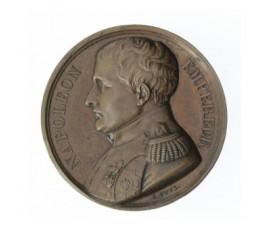 Médaille de Napoléon Ier empereur - Mémorial de Sainte-Hélène,1840,Bronze, M10041