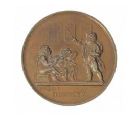 Médaille de la société pour l'instruction élémentaire,1840,Bronze, M10043