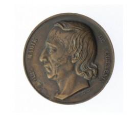 Médaille d'hommage à Louis Marie De Cormenin,1842,Bronze, M10046
