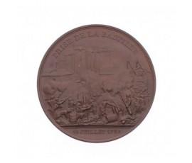 Médaille de la prise de la Bastille et du Donjon de Vincennes,1844,Cuivre, M10049