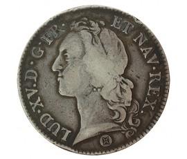 Monnaie, France , Ecu au bandeau, Louis XV, Argent, 1741, Bordeaux (K), P10187