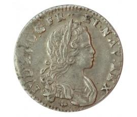 Monnaie, France , 1/12 écu ou X sols , Louis XV, Argent, 1719, La Rochelle (H), P10190