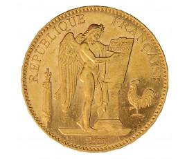 Monnaie, France , 100 francs Génie, IIIème République, Or, 1899, Paris (A), P11016
