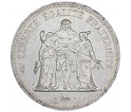 Monnaie, France , 50 francs Hercule hybride avers 20 francs, Vème République, Argent, 1974,, P11023