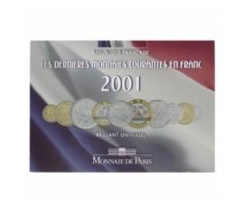 France, Livret BU 2001, 10 pièces, C10003
