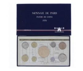 France, Boîte FDC 1976, 9 pièces, C10010