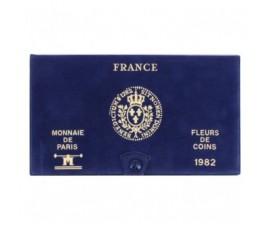 France, Livret FDC 1982, 11 pièces, C10012
