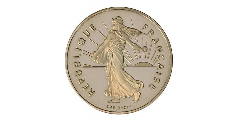 Monnaie, France , 1 franc Semeuse BE, Vème République, Nickel, 1996, Pessac, P11032